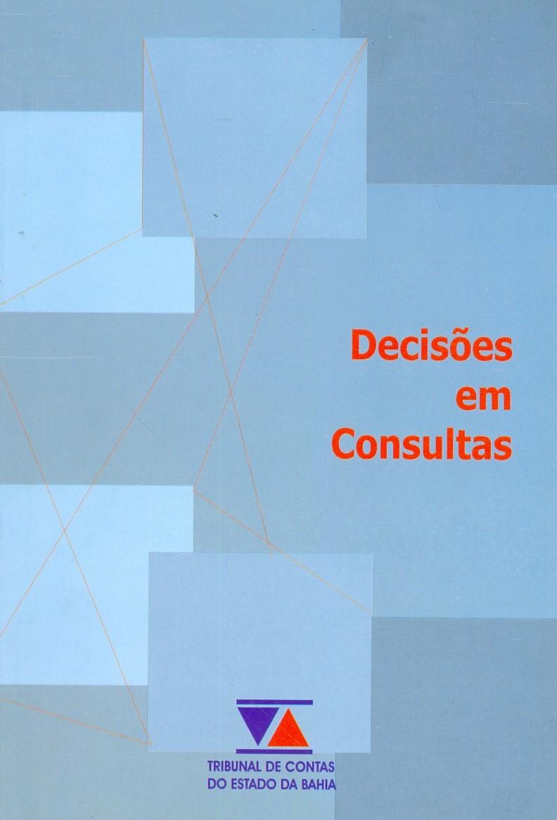 Capa da(o) 3.-Decises-em-consultas20210354.jpgDecisões em consultas