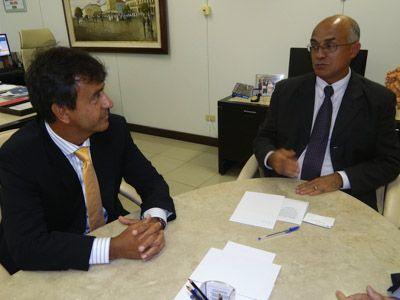 Imagem sobre Secretário de Comunicação faz visita ao Tribunal de Contas