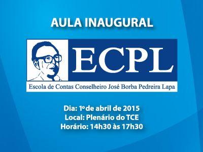 Imagem sobre Escola de Contas Pedreira Lapa terá aula inaugural