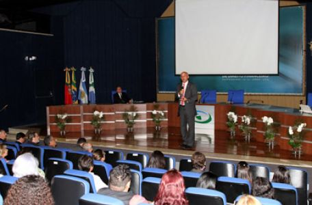 Imagem sobre Presidente Inaldo Araújo profere palestra sobre Lei de Finanças Públicas