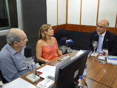 Imagem sobre Conselheiro Inaldo Araújo divulga ações do TCE na Rádio Metrópole